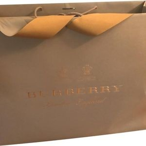 Burberry Prorsum Beige/Taupe Shopping Tote Bag